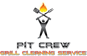 Pit Crew Grill Cleaning Service Logo
